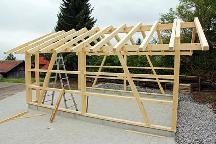 Fertiggarage holz bausatz  Holz-Fertiggarage | Fertiggaragenportal